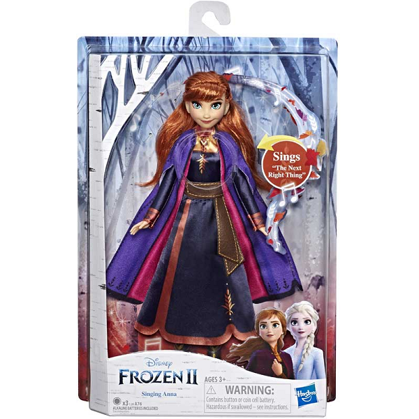 Disney Frozen 2 Anna Singing Doll Cover Image