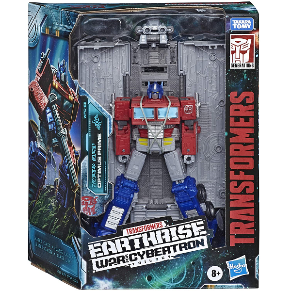 War for cybertron earthrise Optimus Prime Cover Image 1
