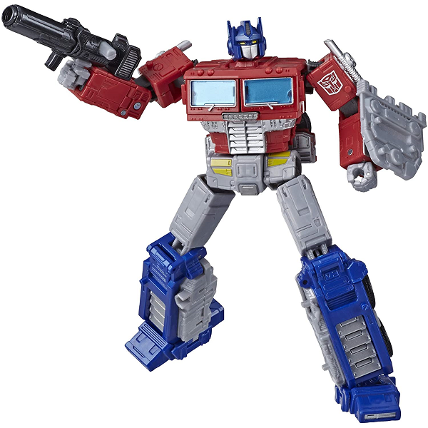 War for cybertron earthrise Optimus Prime Cover Image 2 - Robot Mode