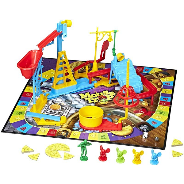 Family Favourite Mouse Trap Board and Pieces