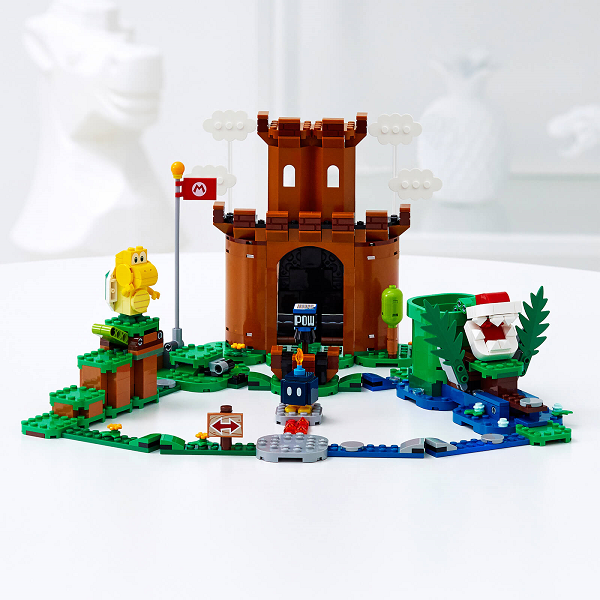 Toy Lego Guarded Fortress Expansion Set (71362) built model