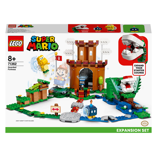 Toy Lego Guarded Fortress Expansion Set (71362) Cover