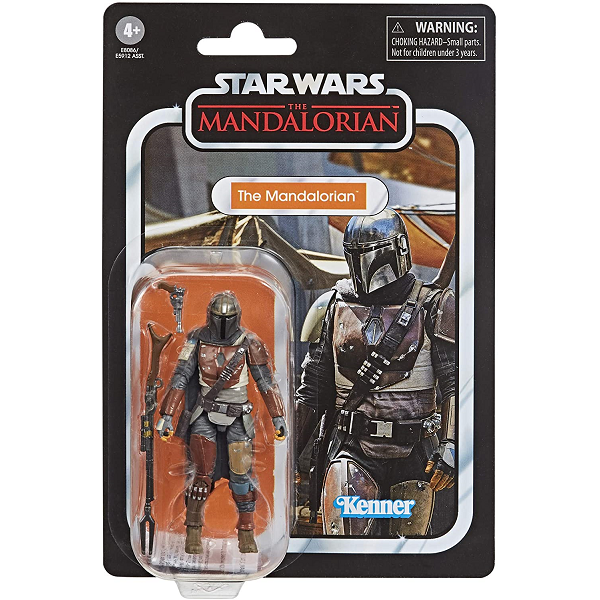 The Mandalorian 3.75 inch action figure in packaging