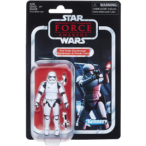 Star Wars First Order Stormtrooper 3.75inc action figure in packaging
