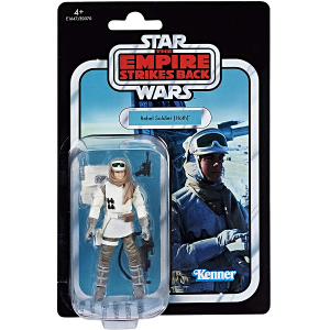 Rebel Hoth Soldier action figure in packaging