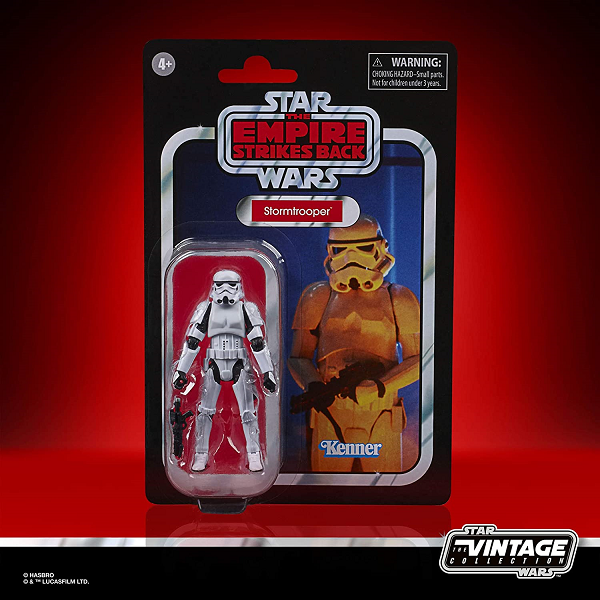 Star Wars Carbon Chamber Storm trooper in packaging