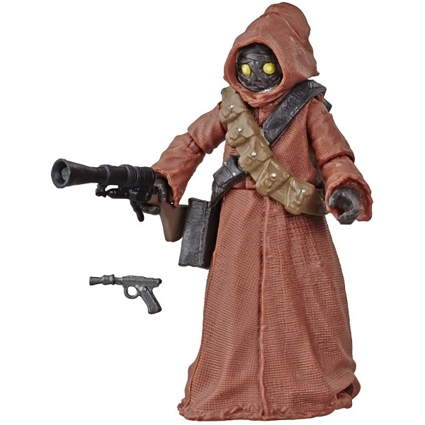 Star Wars Vintage Collection 3.75 inch Jawa action figure picture in battle pose