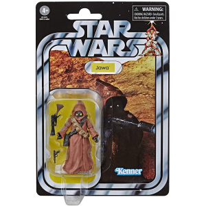 Star Wars Vintage Collection 3.75 inch Jawa action figure picture in vintage packaging