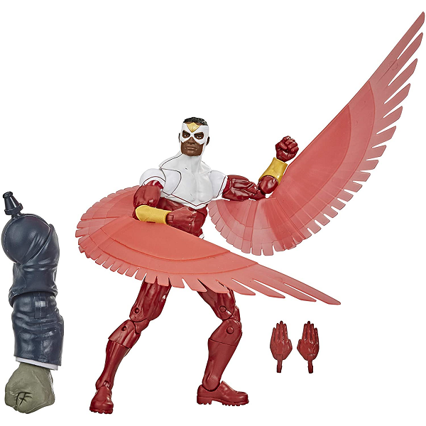marvel legends falcon with accessories