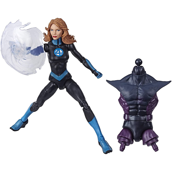 marvel legends invisible woman with accessories