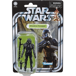 Star Wars Vintage Collection 3.75 inch imperial shadow trooper action figure picture in vintage packaging