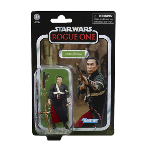 star wars vintage collection chirrut imwe three point seven five inch action figure in vintage packaging