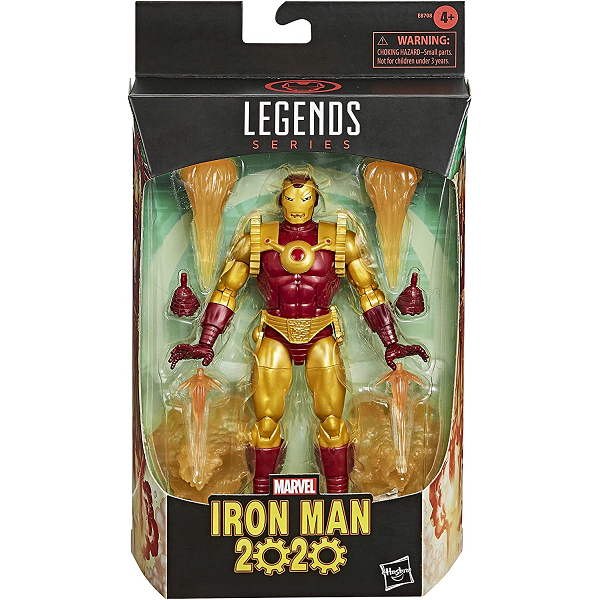 marvel legends ironman 2020 6inch action figure in packaging